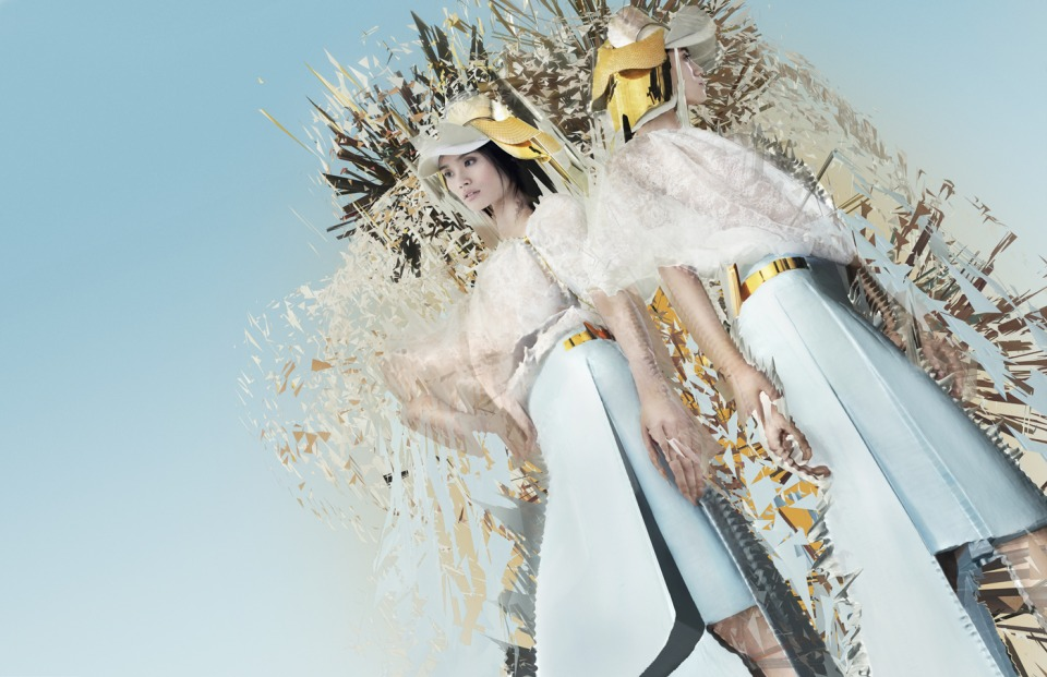 Lane Crawford Nick Knight 3D