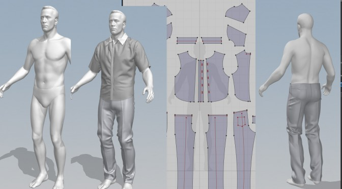 3d archives magic fabric for Virtual suit builder