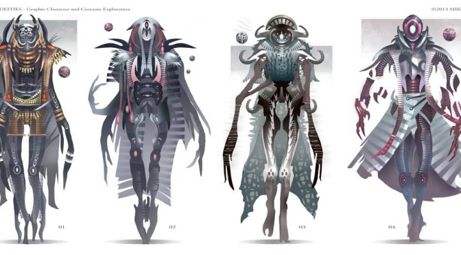 Demons and Deities by Mike Corriero