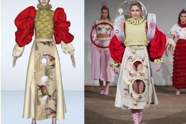 Fashion pieces by Denise van Gent