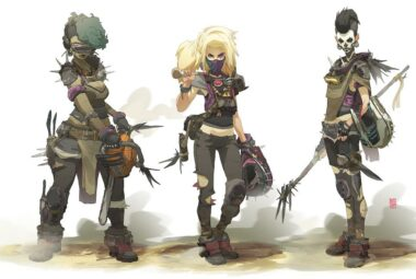 Game characters by Sergi Brosa