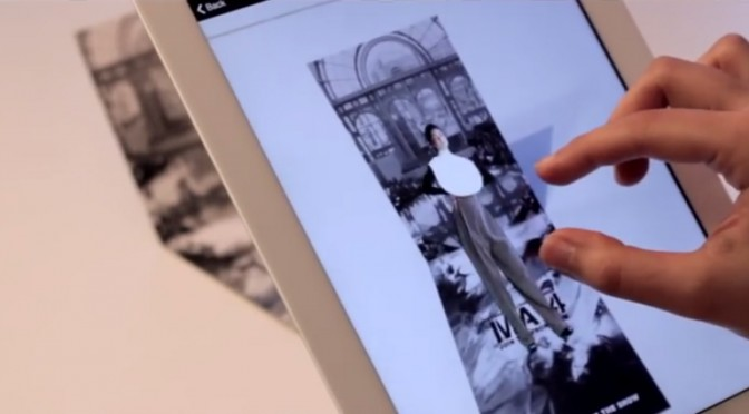Augmented reality disrupting the fashion show